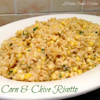 Corn & Chive Risotto
