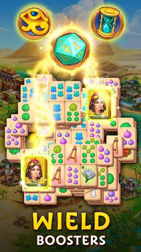 Pyramid of Mahjong: A tile matching city puzzle screenshots 2