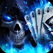 3D Poker Skull Theme Launcher