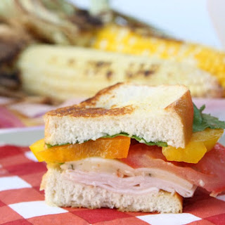 Grilled Turkey Veggie Sandwich
