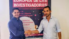 Jesús Portillo, Gerente de Salinas Car,  y Fernando Diánez,  Director  OTRI-UAL.