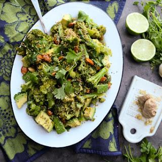 Lime Ginger Broccoli Salad