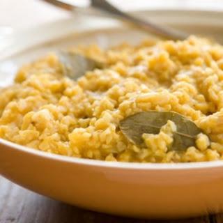 Creamy Pumpkin Brown Rice
