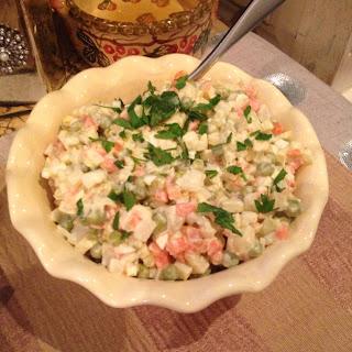 Vegetable Salad (Sałatka Jarzynowa)