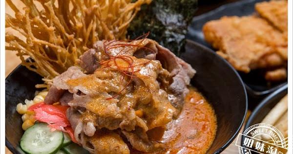 拉瑪右手泰式咖哩丼-超濃郁!火山爆發的泰式咖哩牛肉丼飯!