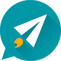 Sms UX - Fast sms app, messenger, voice to text icon
