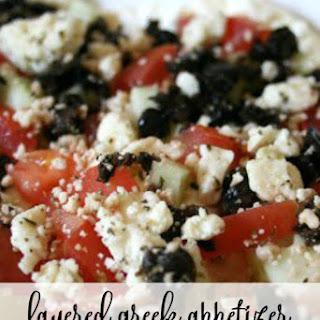 Layered Greek Appetizer Recipe