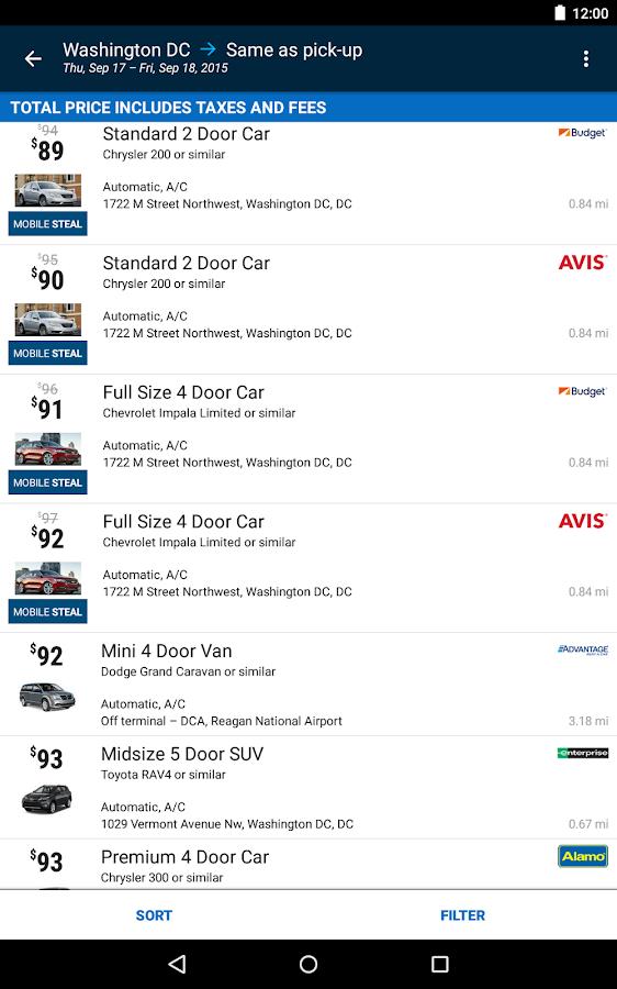Orbitz - Flights, Hotels, Cars- screenshot
