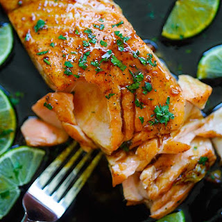 Salmon With Lime Juice Recipes