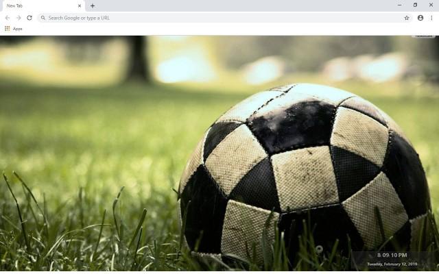 Football & Soccer New Tab