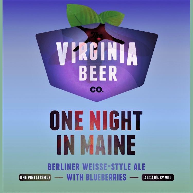 Logo of Virginia Beer Co. One Night In Maine