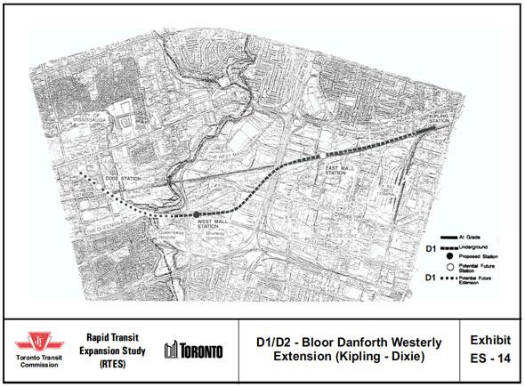 Toronto Dream Subway Map.Why Doesn T Mississauga Have A Subway Insauga Com