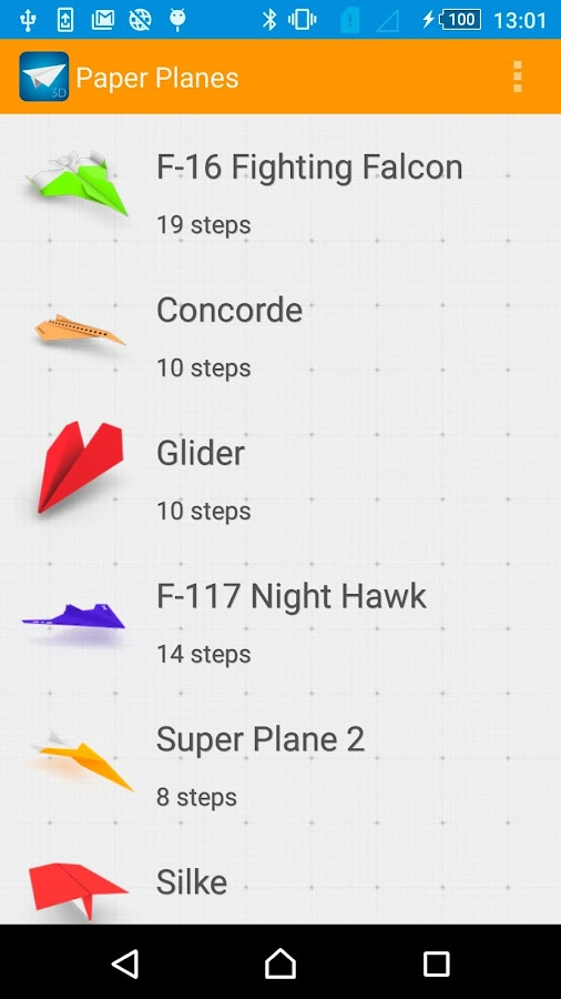 How to Make Paper Airplanes- screenshot