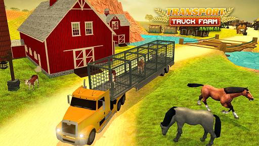 운송 트럭 농장 동물 3D