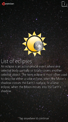Eclipse Calendar