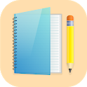 Notes: notepad and lists, organizer, reminders icon