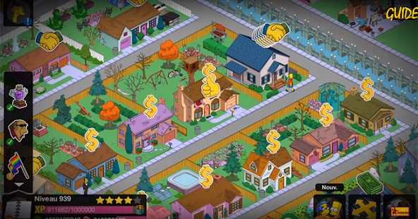 guide Simpsons Tapped Out - náhled