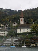 Photo: Church near Lake Thun