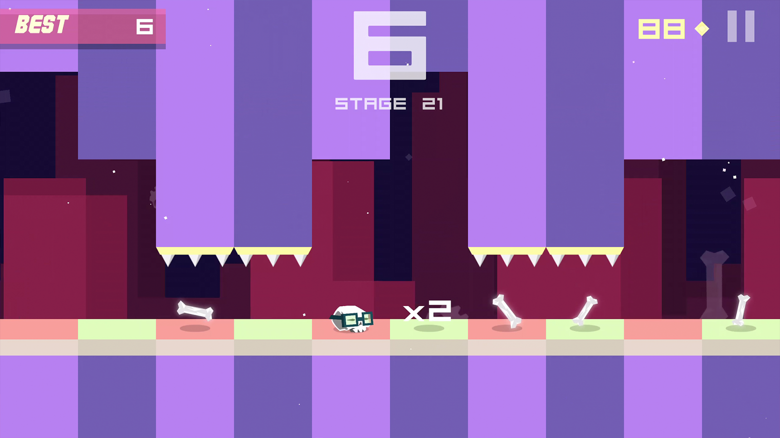 Bonecrusher: Free Endless Game- screenshot
