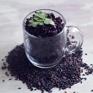 Vegan Coconut Black Rice.