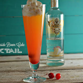 Pineapple Upside-Down Cake Cocktail.