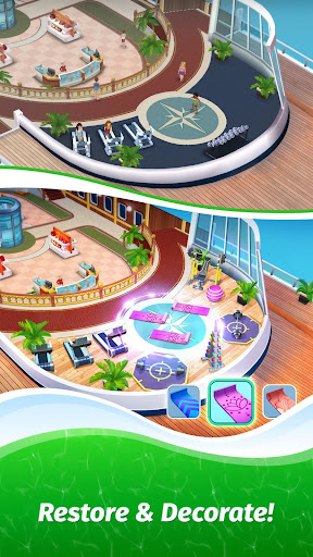 The Love Boat: Puzzle Cruise u2013 Your Match 3 Crush! apkpoly screenshots 7