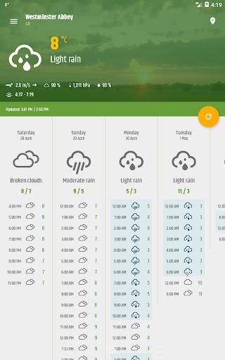 Simple weather & clock widget (no ads) screenshots 20
