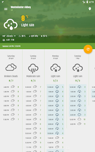 Simple weather & clock widget (no ads) APK image thumbnail 19