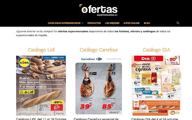 Catálogos de Supermercados