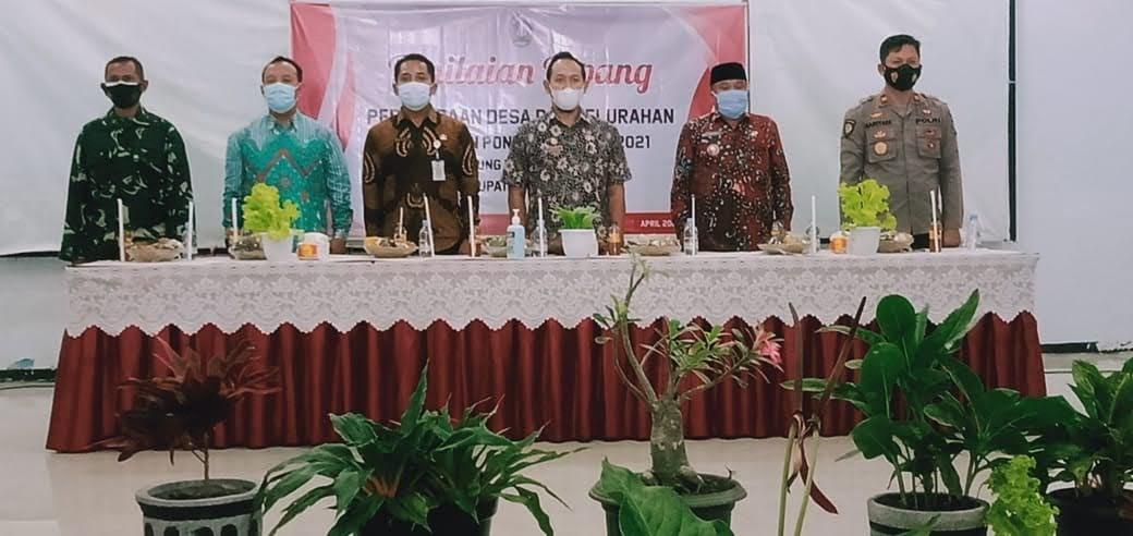 Penilaian Lapang Perlombaan Desa dan Kelurahan Kabupaten Ponorogo Tahun 2021 Desa Pulung Kecamatan Pulung
