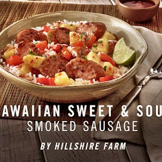 Hawaiian Pineapple Sweet & Sour Smoked Sausage.