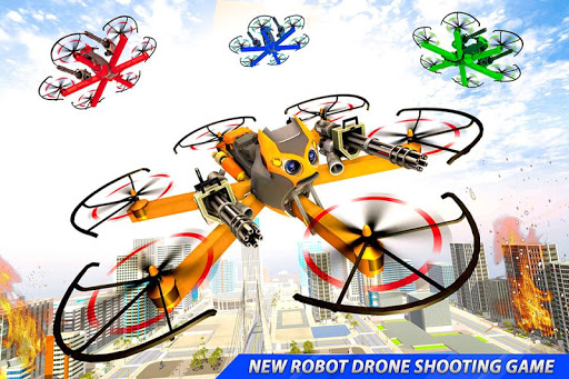 Drone Robot Car Transforming Gameu2013 Car Robot Games screenshots 24
