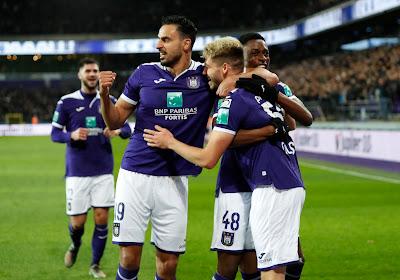Chadli de retour, la sélection d'Anderlecht pour la réception de Zulte