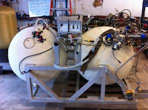 Photo: engine test SuperMod
