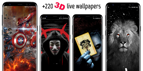 VFX 3D Parallax Live Wallpapers & Backgrounds 2 86 + (AdFree