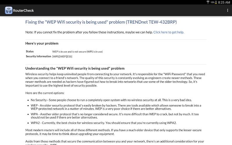 RouterCheck Screenshot 7