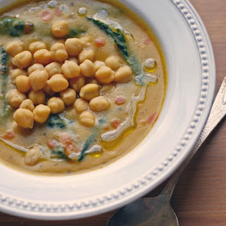 Goodbye to Gourmet - Chickpea Caldo Verde