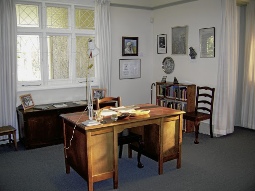Lovers of literature can pop into Alan Paton's study while on the Pietermaritzburg literary trail.