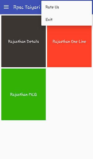 Apl RPSC RAS RAJASTHAN GK Taiyari (APK) percuma muat turun untuk Android/PC/Windows screenshot