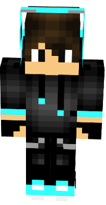 its a perfect skin that the other blue gamer boy