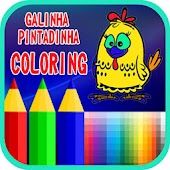 Coloring For Galinha book's