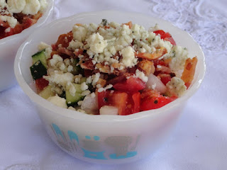 Blue Cheese N Bacon Summer Salad Recipe