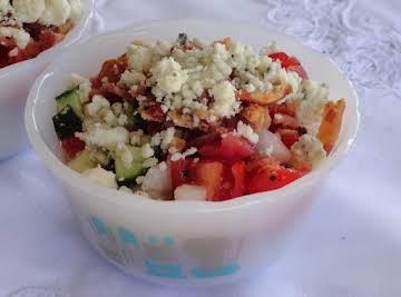 Blue Cheese n Bacon Summer Salad