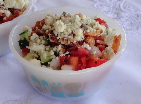 Blue Cheese N Bacon Summer Salad Recipe