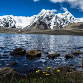 Himalayas by Sandip Ghose - Landscapes Waterscapes ( sandip photography, himalayas, gurudongmar, d3100, sikkim )