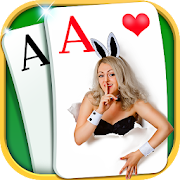Solitaire - Beautiful Girl Themes, Funny Card Game