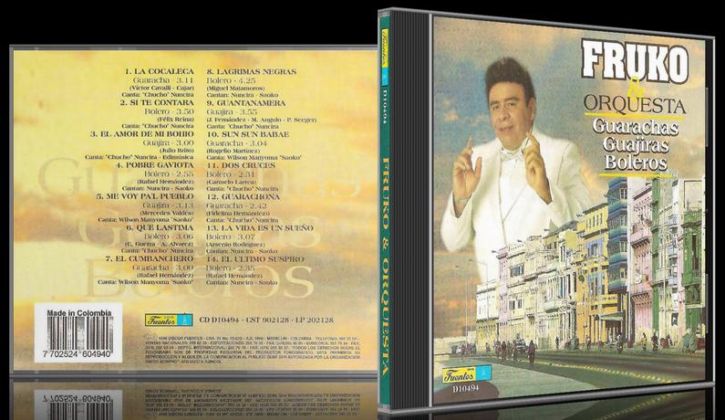 Fruko & Orquesta - Guarachas, Guajiras, Boleros (1996) [MP3 @320 Kbps]