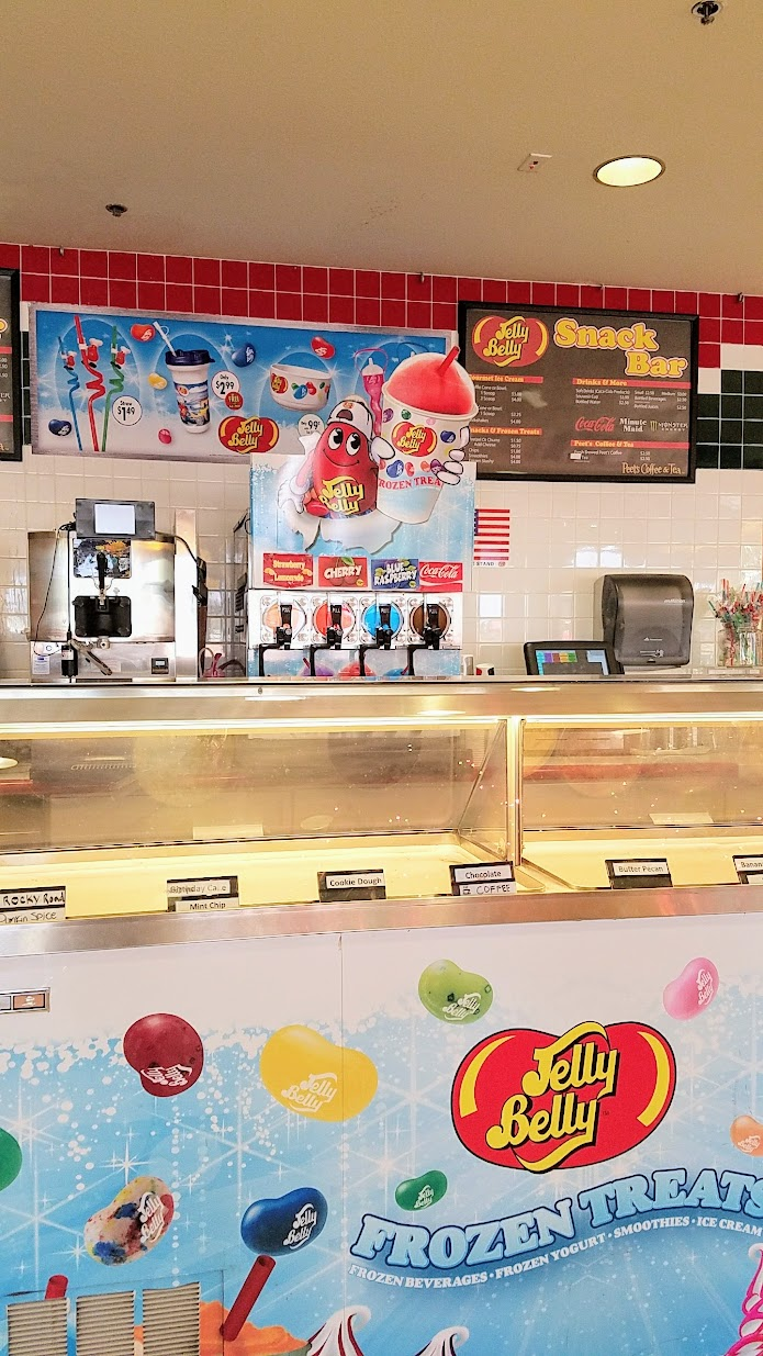 Jelly Belly Factory, Cafe area in Fairfield, California