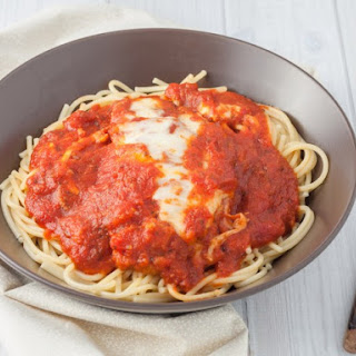 Chicken Parmesan with Quick Marinara Sauce