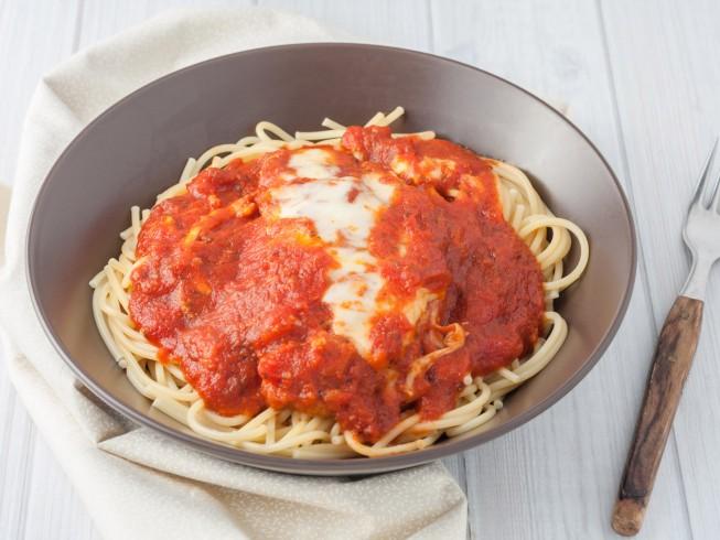 Chicken Parmesan with Quick Marinara Sauce Recipe | Yummly